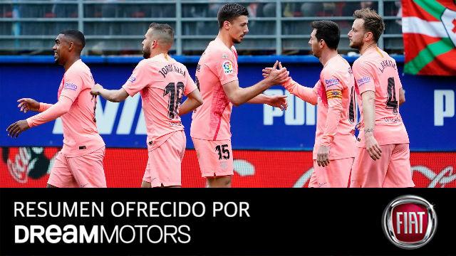 El Barça termina La Liga empatando en Ipurua