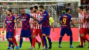 El Barcelona dejó escapar el primer título del año