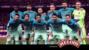 El Barcelona ha jugado un partido muy serio en el Vicente Calderón