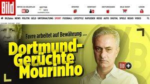 El Bild sitúa a Mourinho en la órbita del Borussia Dortmund