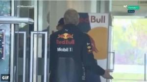 La bronca de Helmut Marko a Verstappen