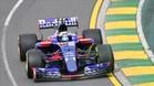 Carlos Sainz, al volante del Toro Rosso en Australia