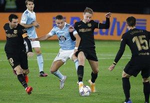 El Celta de Vigo perdió en Balaídos contra el Barcelona en la última fecha