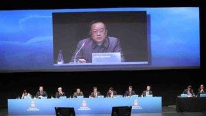 Chen presidió la Junta de accionistas