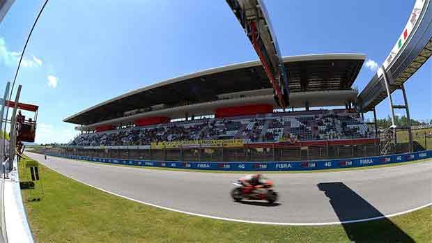 El circuito de Mugello del GP de Italia de MotoGP (ES)