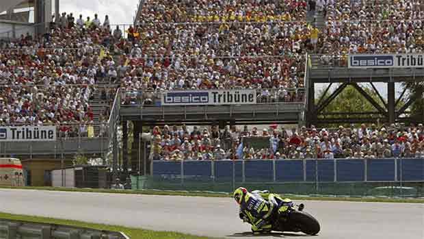 El circuito de Sachsenring del GP de Alemania de MotoGP (ES)