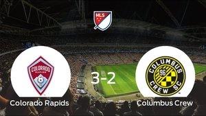 El Columbus Crew pierde ante el Colorado Rapids por 3-2