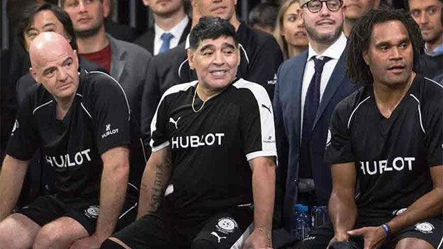 El consejo de Maradona a Messi antes del Mundial