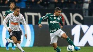 Corintians y Palmeiras empataron a cero