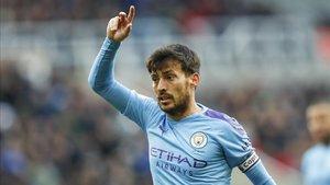 David Silva está disputando su última temporada en el Manchester City