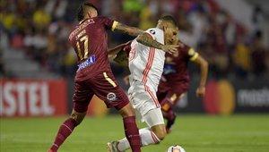 Deportes Tolima igualó en su casa con Inter de Porto Alegre