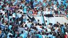 Emanuel Balbo fue lanzado al vacío desde las gradas del estadio Mario Alberto Kempes de Córdoba