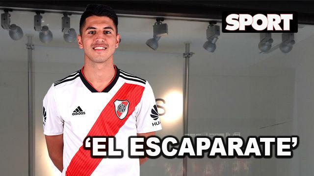 El Escaparate: Exequiel Palacios