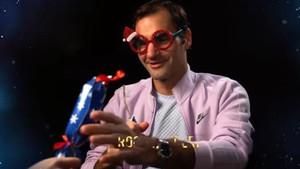 Federer, en el vídeo navideño de la ATP