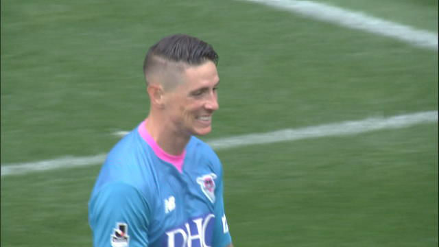 Fernando Torres se reencuentra con el gol