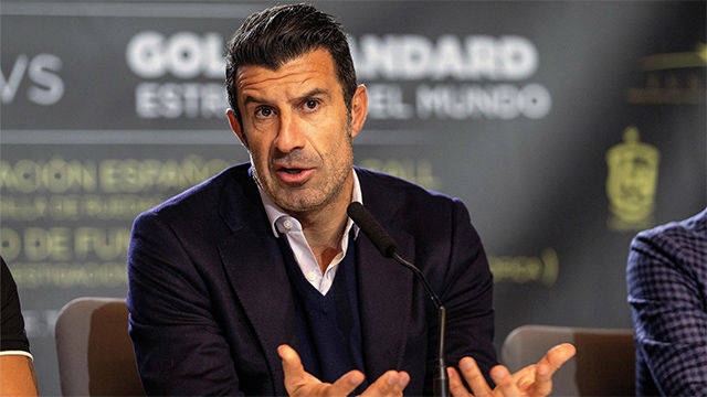 Figo, sobre el Clásico: La diferencia es que el Madrid es mejor defensivamente