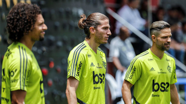 Flamengo y River se preparan para la final
