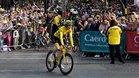 Geraint Thomas se coronó como campeón del Tour de Francia