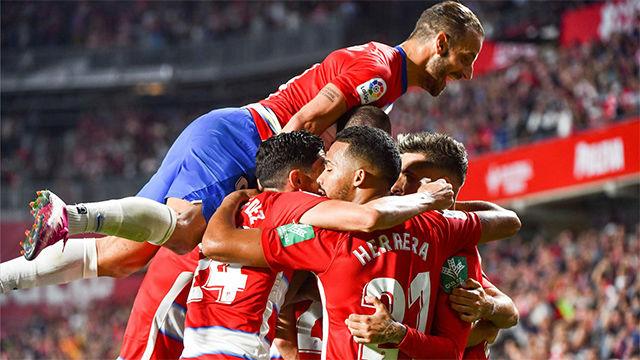 El Granada gana a Osasuna y sigue soñando en la parte alta de la clasificación
