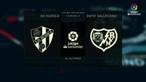El Huesca estrena El Alcoraz en Primera con una derrota ante el Rayo
