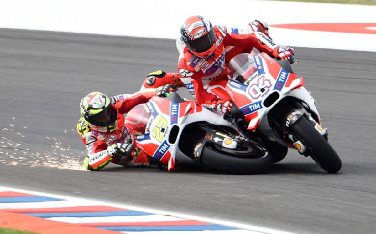 Guerra en Ducati con Jorge Lorenzo en la sombra