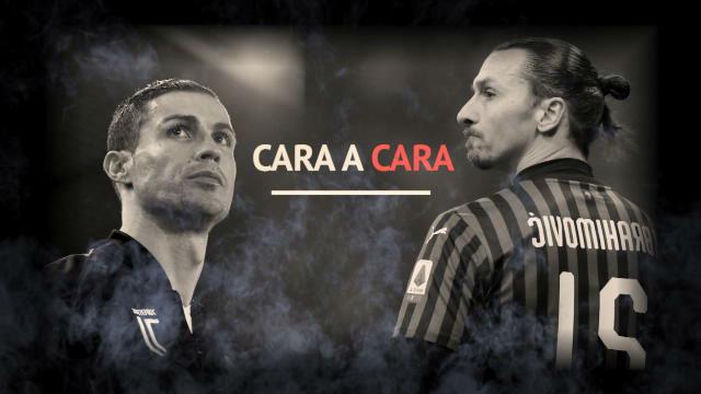 Ibra VS Cristiano, el duelo en la Copa italiana