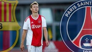 De Jong, entre Barça y PSG