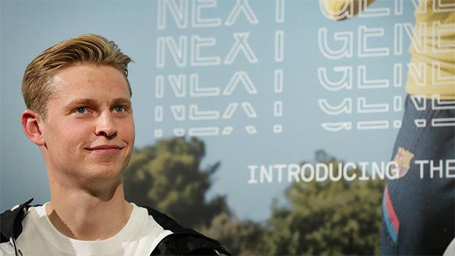 De Jong explica qué sensaciones tiene con la Champions este año
