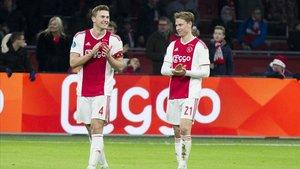 De Jong y De Ligt unirán de nuevo sus caminos en el Barça