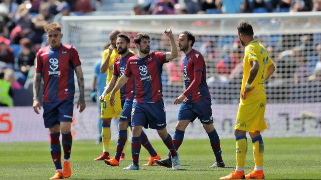LALIGA   Levante - Las Palmas (2-1)