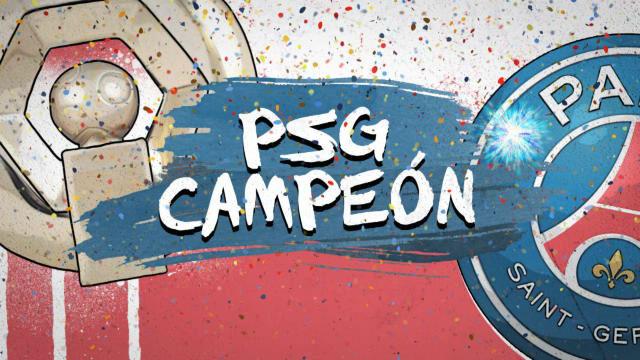 Las cifras del título liguero del PSG