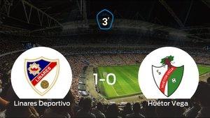 El Linares Deportivo se queda con los tres puntos frente al Huétor Vega (1-0)