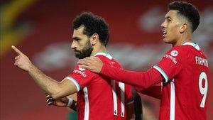 Liverpool empata con el Everton en la cúspide de la Premier League aunque con menos goles