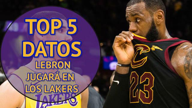 Los Lakers hacen oficial el fichaje de Lebron
