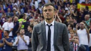 Luis Enrique podría seguir en la Liga española