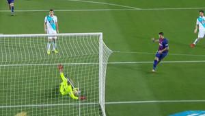Luis Suárez marcó el tercer gol