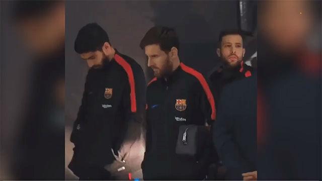 Messi, Alba y Suárez protagonizan un video que se ha hecho viral