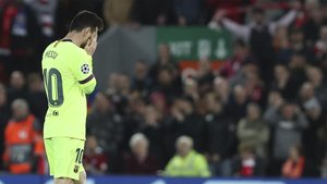 Messi lamentará eternamente la derrota en Liverpool