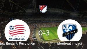 El Montreal Impact logra una goleada en el estadio del New England Revolution (0-3)