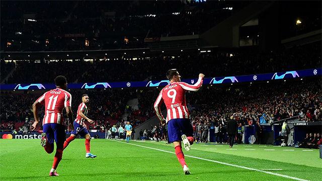Morata: ¿La celebración? Llevaba la de Dios sin marcar en Champions