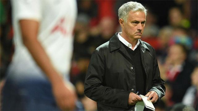 Mourinho abandona la sala de prensa: He ganado más Premier que el resto de entrenadores juntos