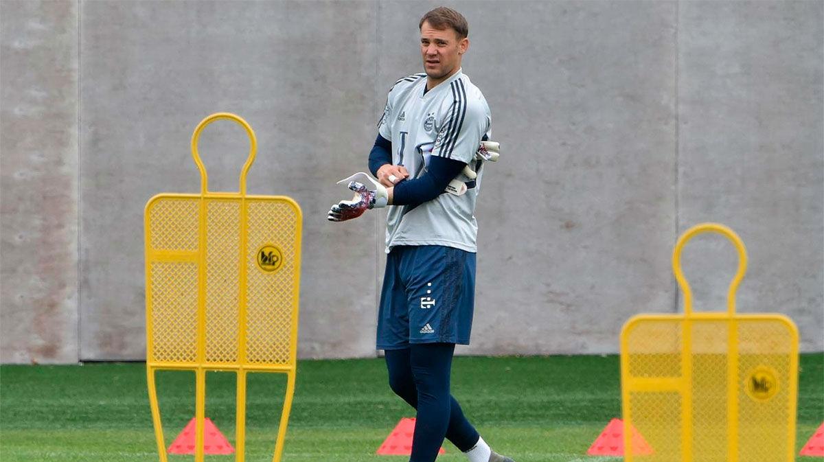 Neuer explica su renovación: Confío en el Bayern