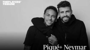 Piqué y Neymar, en Players Tribune