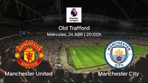 Previa del encuentro de la jornada 31: Manchester United contra Manchester City