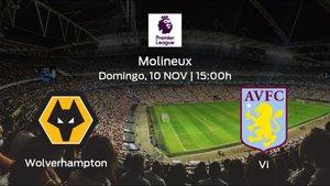 Previa del partido: el Wolverhampton Wanderers recibe en su feudo al Aston Villa