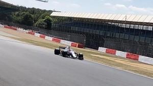 Primer día de test en Silverstone