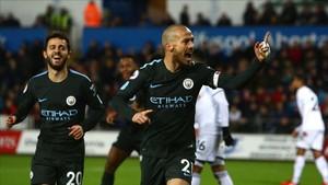 El primer gol fue de Silva a Silva: de Bernardo a David...