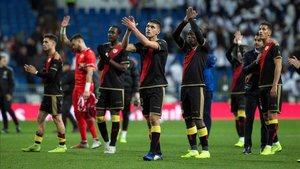 El Rayo acabó aplaudido en el Bernabéu