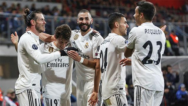 El Real Madrid se gusta ante el Viktoria Plzen