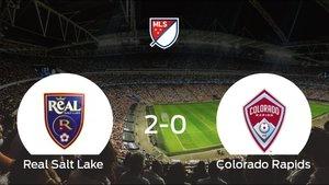 El Real Salt Lake se hace fuerte en casa y gana al Colorado Rapids